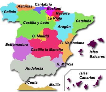 Autonomías españolas